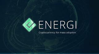 Airdrop de la criptomoneda energi