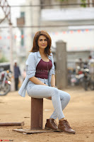 Shraddha Das in a Lovely Brown Top and Denim jeans ~ Exclusive Unseen Beauty HD Pics 020.JPG