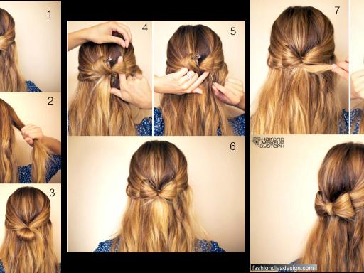 Inspiração para penteados para o natal de 2014 ♡
