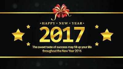 Happy New Year Status 2017