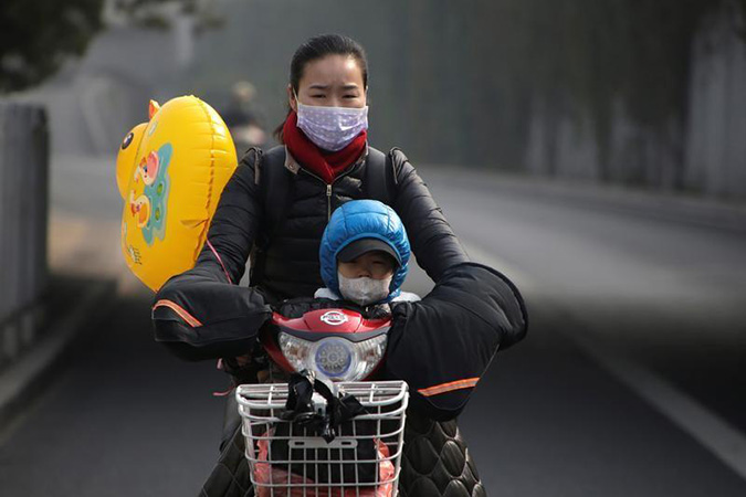 Penelitian WHO Air Pollution Severely Damages Children's Health Worldwide