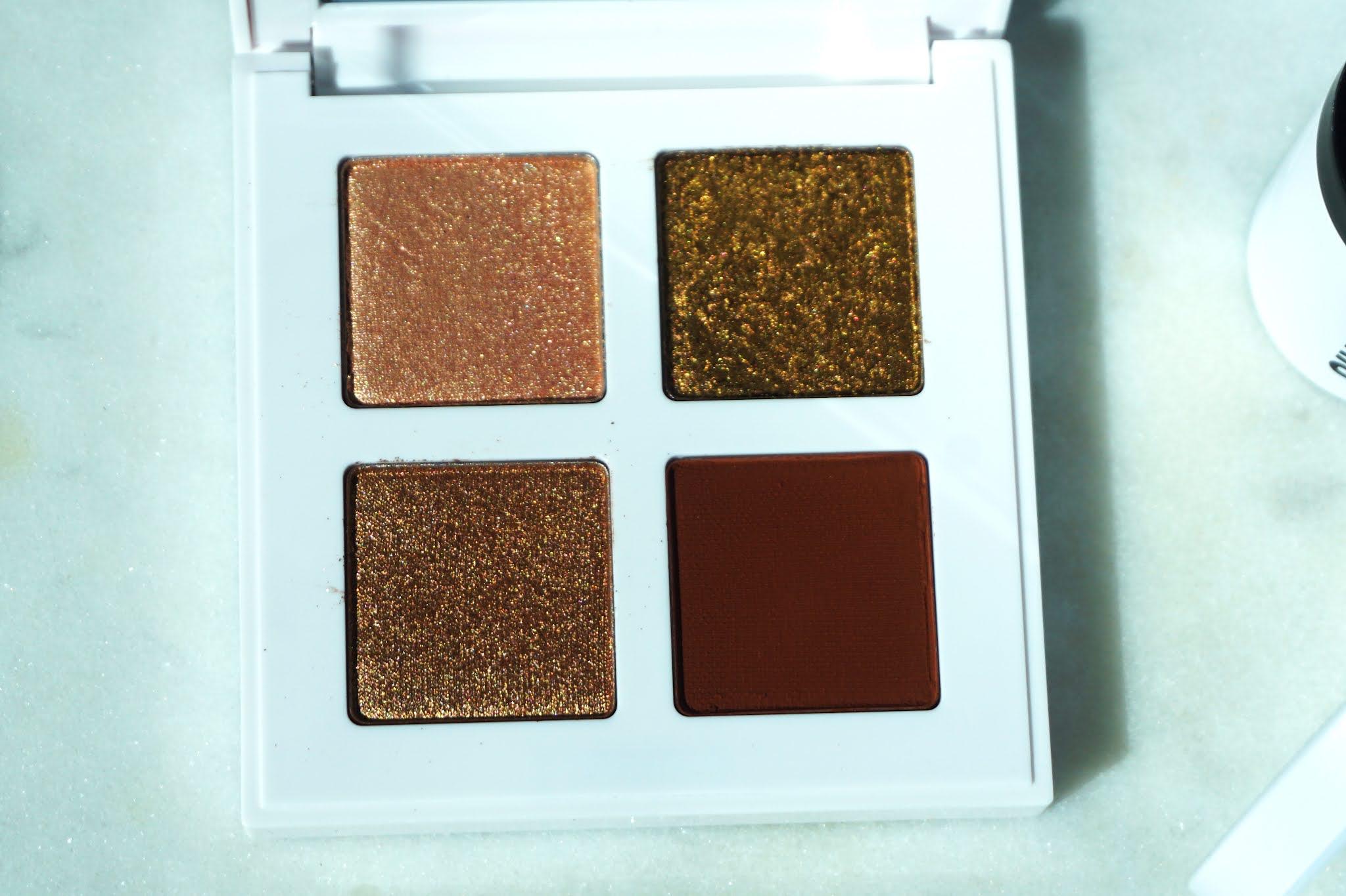 Makeup by Mario Glam Eyeshadow Quad Bronzy Glam