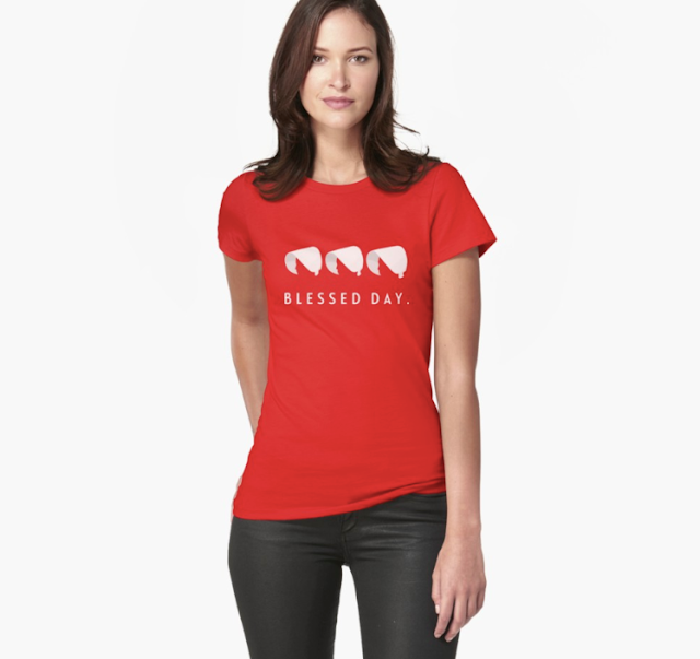 Blessed day - handmaid's T-shirt