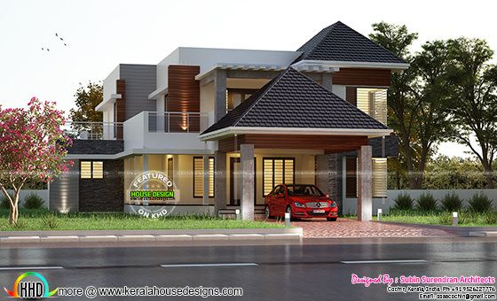 Premium Kerala home design