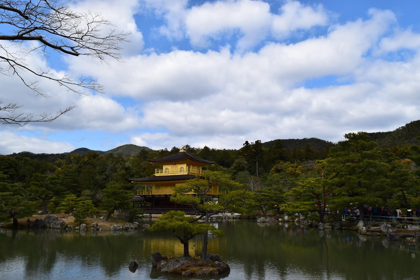 Kinkakuji, spring