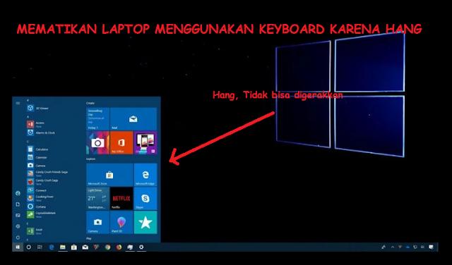 Cara Mematikan Laptop Menggunakan Keyboard Karena Hang