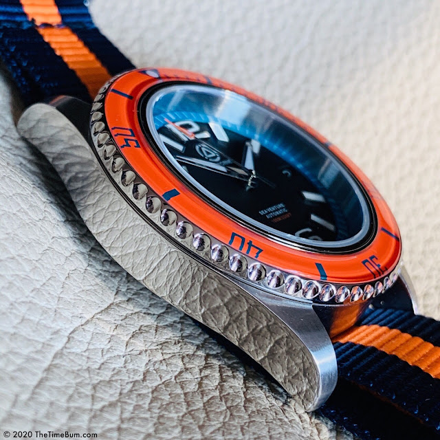 Seaborne Sea Venture Sunrise Orange Bezel