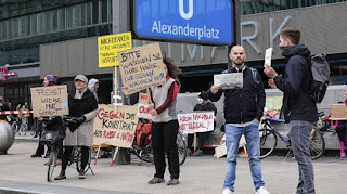 ألمانيا، فيروس كورونا، كوفيد-19، برلين، مظاهرات، يورونيوز، حربوشة نيوز