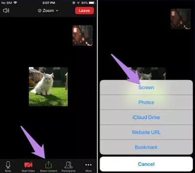 Cara Share Video Audio di Zoom Meeting-4