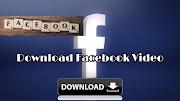 Easy Way To Download Facebook Video | Facebook copy link video download