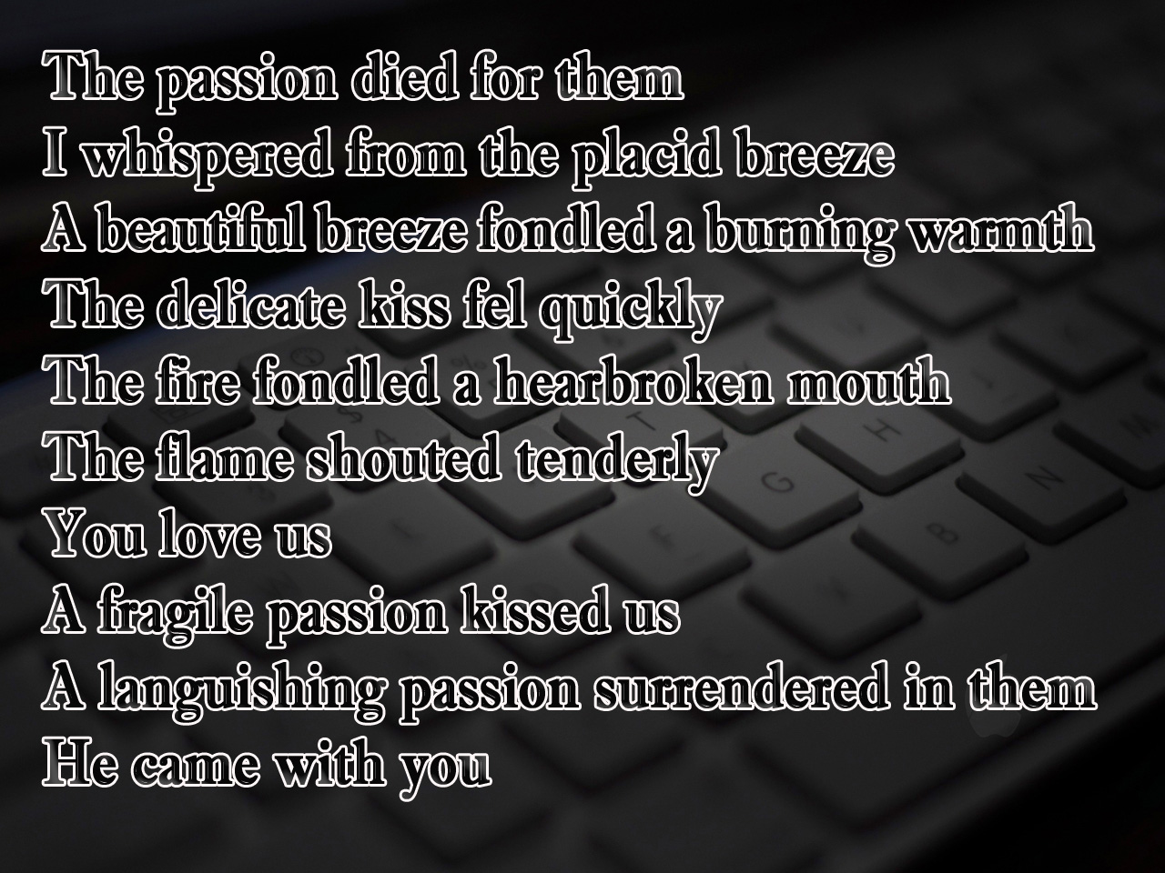 Computer Passion Poem For Her In Romantic Mood Poetry Likers