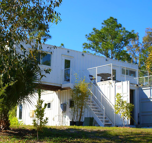 Headwaters Eco Retreat Shipping Container House, Florida 3