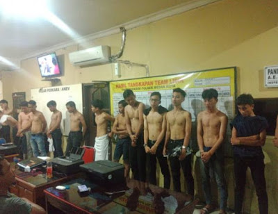 Usai Dilempari Warga, Geng Motor yang Merusuh di Jalan Pelangi Ditangkap Polisi