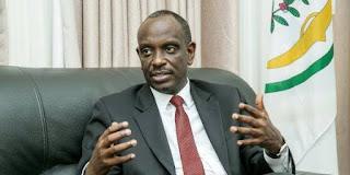 Rwanda's Minister of Foreign Affairs Richard Sezibera
