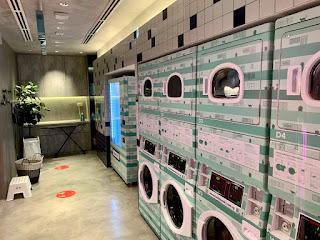 Laundry room at lyf Funan