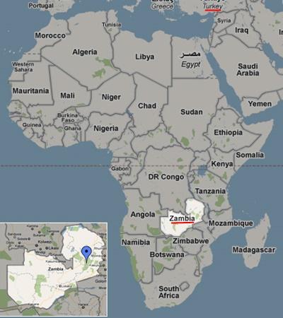Zambiya Dünyada Nerde