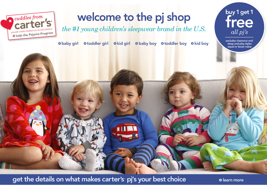 Mommy S Coupon Fairy B1g1 Free Pj S At Carter S Save 25