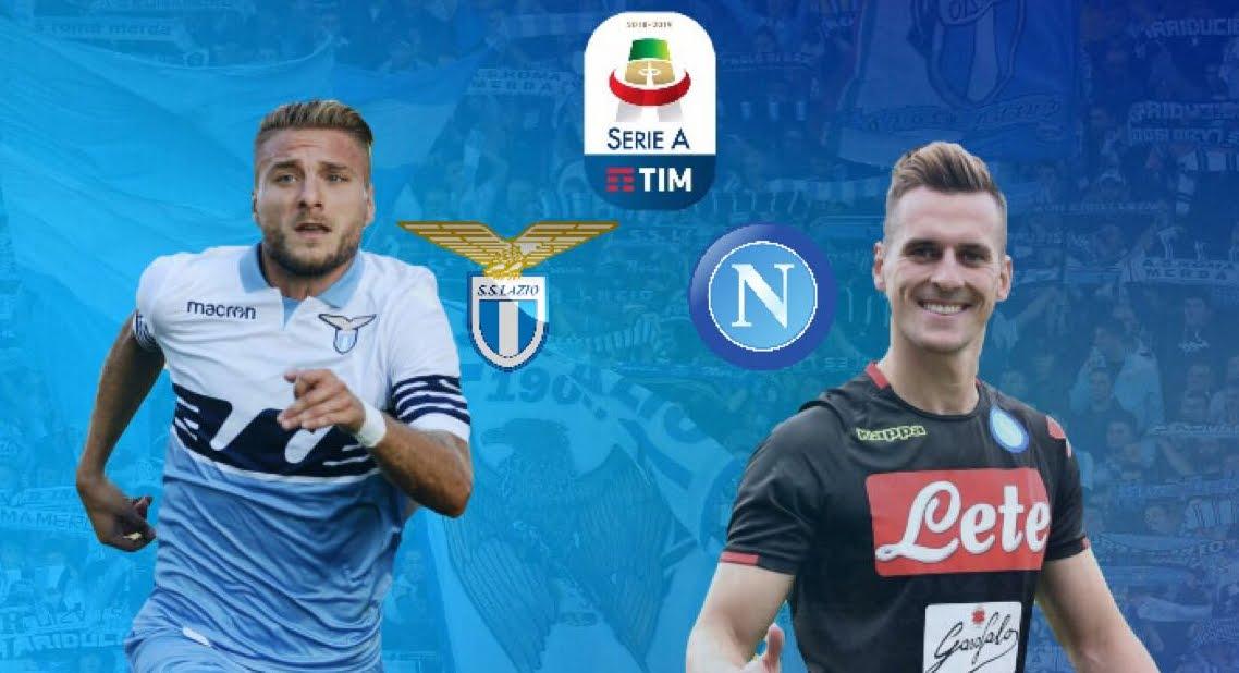 Dove Vedere LAZIO-NAPOLI Streaming Gratis Online | 2° anticipo 1a giornata Serie A Calcio
