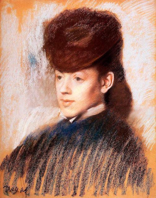 Эдгар Дега - Мадмуазель Мало (1877)