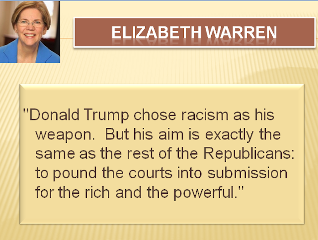 elizabeth warren donald trump republican party