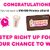 Dunkin Donuts Gift Card Instant Win Giveaway - 42,000 Winners Win a $10 or $5 Gift Card. 4 Grand Prize Trip Winners. Daily Entry, Ends 8/11/20
