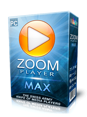 Zoom Player MAX Box Imagen