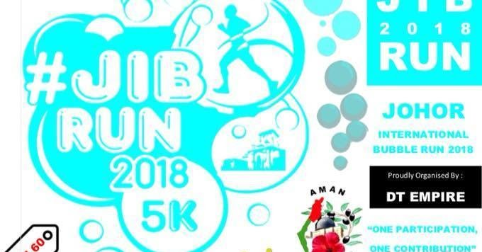 Runnerific Johor International Bubble Run 2018