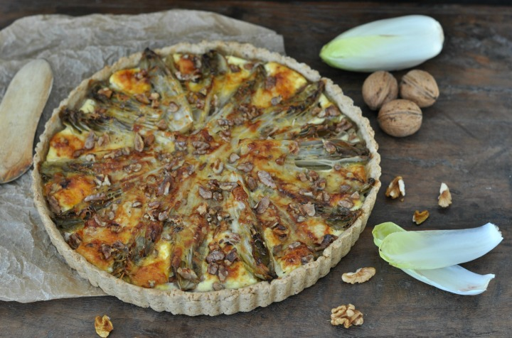 Witloof Quiche, the gluten-free proof that witloof actually CAN be dilicous!