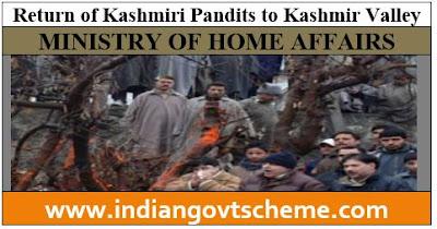 Kashmiri Pandits to Kashmir Valley