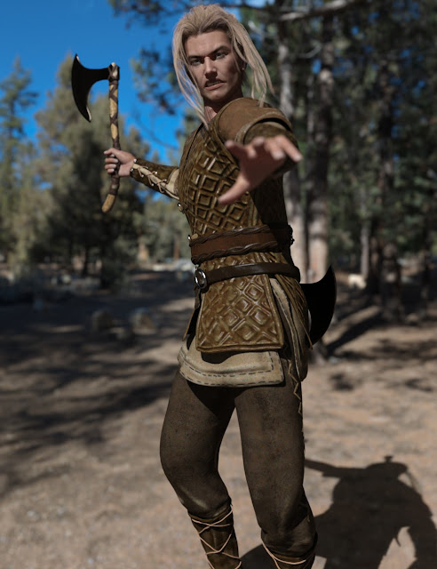 Nordic Warrior for Genesis 3 Male