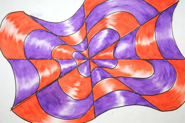 Optical Illusion Drawing Art