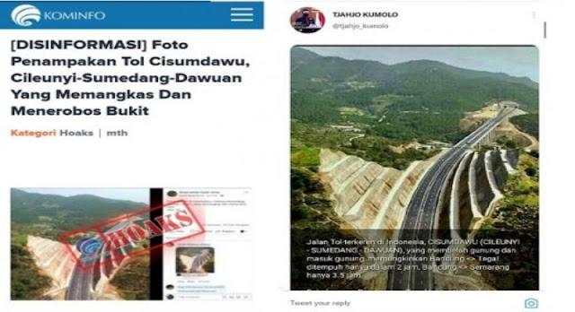 Tjahjo Kumolo Minta Maaf Karena Unggah Hoax Soal Tol Cisumdawu, Ternyata Foto Jalanan di Turki