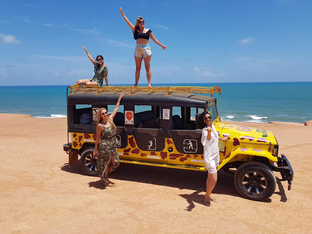 Blog Apaixonados por Viagens - Praia de Pipa - City Tour Camaro Amarelo