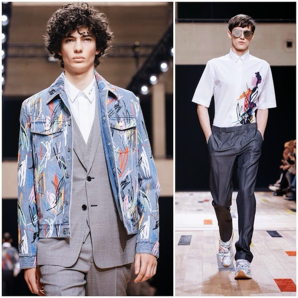 f4a6b93c957 What s he wearing   Dior Homme Spring Summer 2015 - Paris Fashion ...