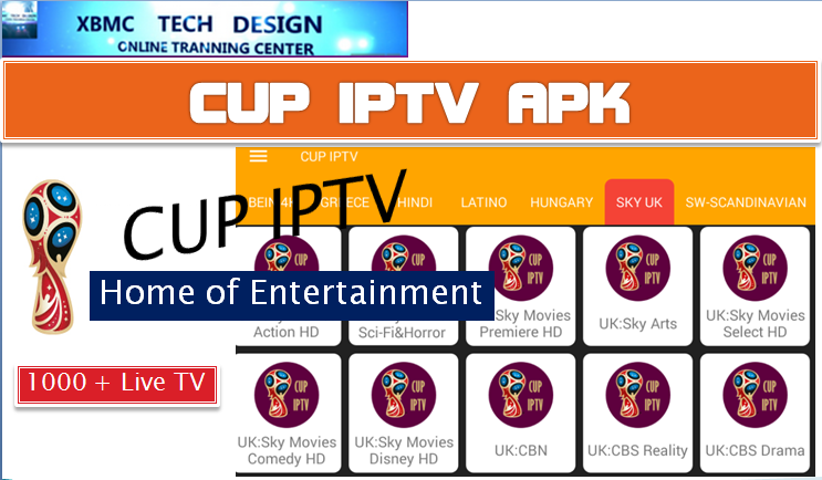Download CUP TElevision APK- FREE (Live) Channel Stream Update(Pro) IPTV Apk For Android Streaming World Live Tv ,TV Shows,Sports,Movie on Android Quick CUP IPTV-PRO Beta IPTV APK- FREE (Live) Channel Stream Update(Pro)IPTV Android Apk Watch World Premium Cable Live Channel or TV Shows on Android