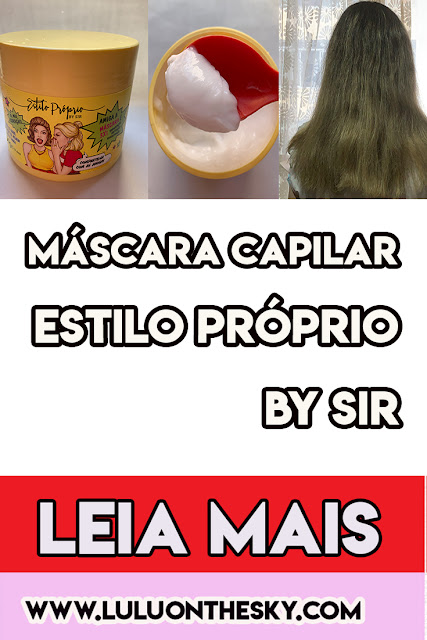 Máscara  Capilar Estilo Próprio By Sir