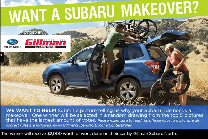 Gillman Subaru North >> Gillman Subaru North