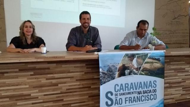 Em Piranhas, Ministério Público Estadual leva Caravana de Saneamento da Bacia do Rio São Francisco