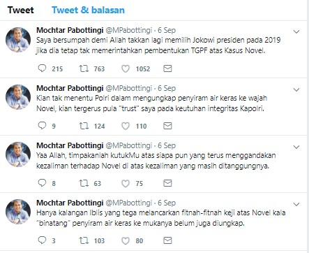 Pengamat Politik Ini Bersumpah Tak Mau Pilih Jokowi Lagi