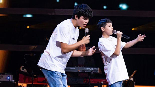 Oscar und Mino - Qué Me Van Hablar De Amor || The Voice Kids 2021