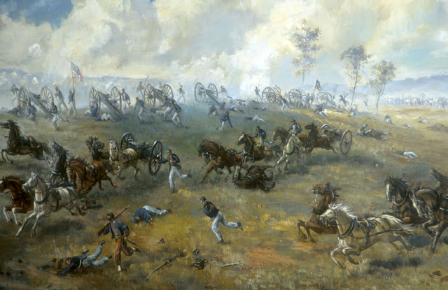 The first Battle of Bull Run (1824-1863)