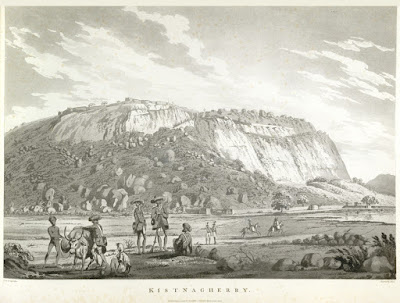 Krishnagiri fort was besieged by the British during the first Mysore war