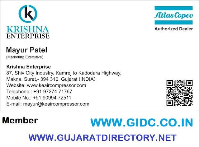 KRISHNA ENTERPRISE - 9099722511 Authorized Dealer for Atlas Copco (India) Ltd.