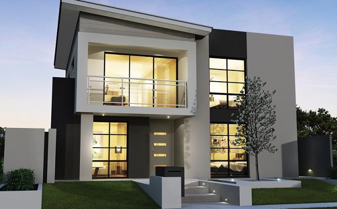 rumah minimalis gaya eksotis