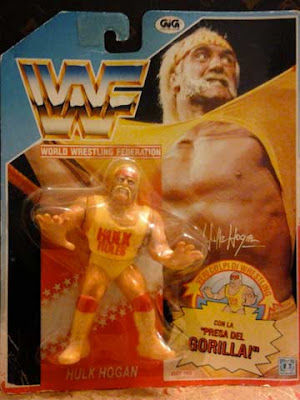 L'action figure Hasbro Gig di Hulk Hogan in italiano (prima serie)