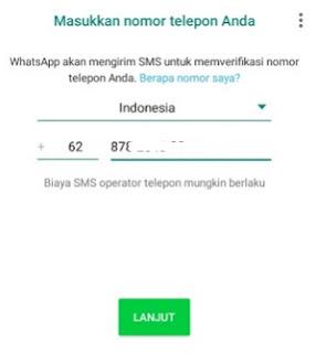 Langkah-langkah memperbarui Whatsapp mod