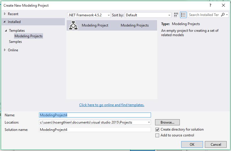 Vẽ UML trong Visual Studio 2015 | UIT CODE