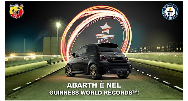 """Νέο ρεκόρ Guinness για την Abarth χάρη στην αγάπη και το πάθος των """"Abarthisti"""""""