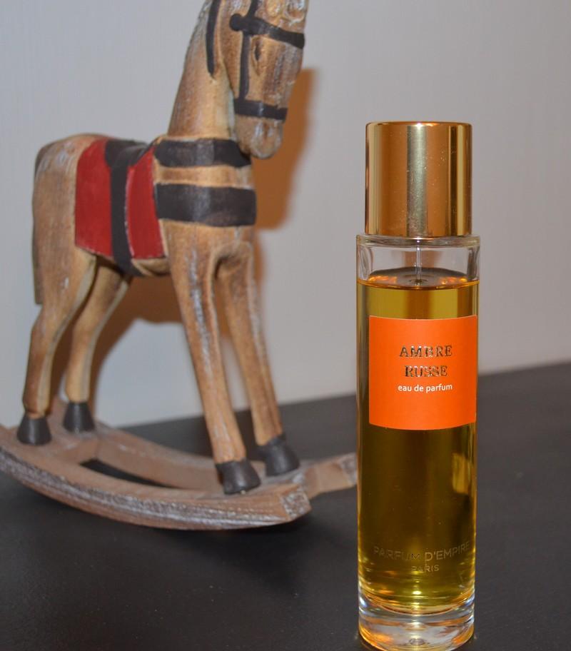 Ambre Russe ,  Parfum d'Empire , origines parfums