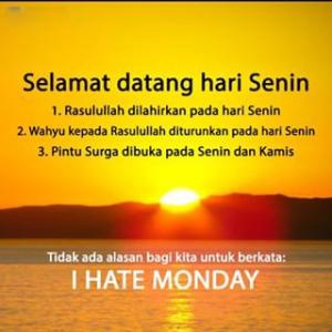 Kata Kata Semangat Untuk Hari Senin